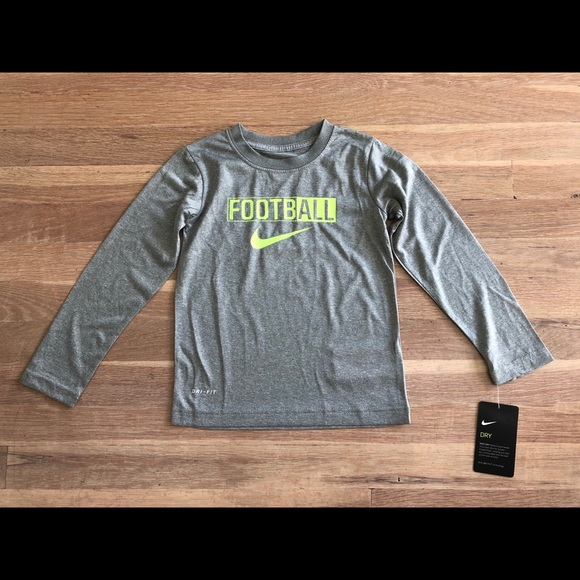 Nike Other - Boys Nike DriFit Grey long sleeve shirt sz 4T NWT